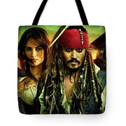 Pirates Of The Caribbean Stranger Tides Tote Bag