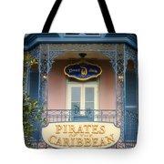 Pirates Signage New Orleans Disneyland Tote Bag