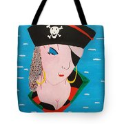 Piratess Of The Sea Tote Bag