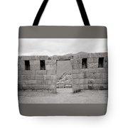 Pisac Architecture Tote Bag