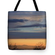 Pisgah Sunrise Tote Bag