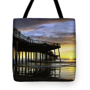 Pismo Sunset View Tote Bag