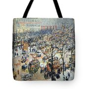 Pissarro's Boulevard Des Italiens In Morning Sunlight Tote Bag