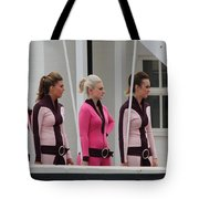 Pit Lane Girls Tote Bag