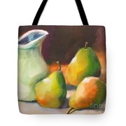 Pitcher And Pears Tote Bag by Michelle Abrams