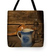 Pitcher Cup And Lamp Tote Bag