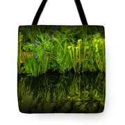 Pitcher Plant Paradise Tote Bag by Mike Nellums