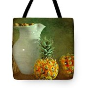 Pitcher With Pineapples Tote Bag