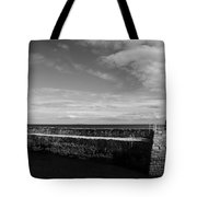 Pitenweem Harbour Wall Tote Bag