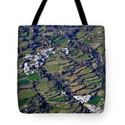 Pitres And Capilerilla From The Air Tote Bag