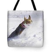 Pitt Bull Snow Plow Tote Bag
