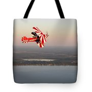 Pitts At Sunset Tote Bag