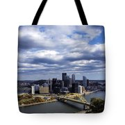 Pittsburgh After The Storm Tote Bag