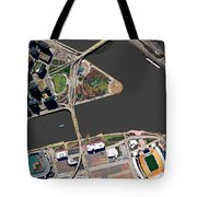 Pittsburgh Golden Triangle 2 Tote Bag