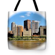 Pittsburgh Pa In The Spotlight Tote Bag