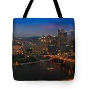 Pittsburgh Pa Tote Bag