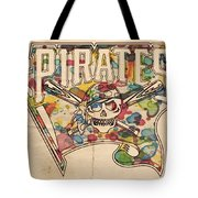 Pittsburgh Pirates Poster Art Tote Bag