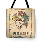 Pittsburgh Pirates Vintage Art Tote Bag