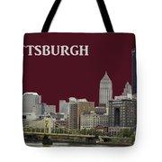 Pittsburgh Poster Tote Bag