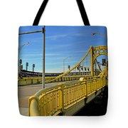 Pittsburgh - Roberto Clemente Bridge Tote Bag