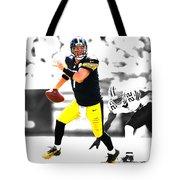 Pittsburgh Steelers Ben Roethlisberger Tote Bag