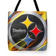 Pittsburgh Steelers Football Tote Bag