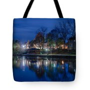 Pittsford On The Erie Canal Tote Bag