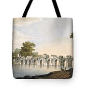 Pl. 34 A View Of The Bridge Tote Bag