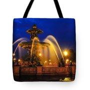 Place De La Concorde Tote Bag by Midori Chan