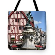 Place Francois Rude - Dijon Tote Bag