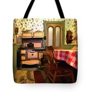 Place Of Gathering Tote Bag
