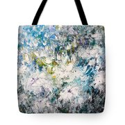 Place Where The Flowers Bloom Forever Tote Bag