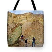 Places To Climb In Golden Canyon In Death Valley National Park-california Tote Bag