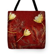 Plain Flowers Pop Art Tote Bag
