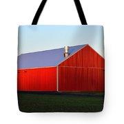 Plain Jane Red Barn Tote Bag