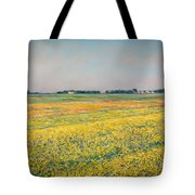 Plain Of Gennevilliers Tote Bag