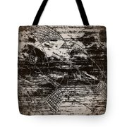 Playing With Birds Tote Bag
