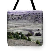 Plains Of Nebraska Tote Bag