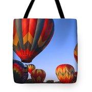 Plainville Hot Air Balloon Fesitval Tote Bag