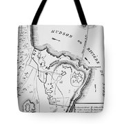 Plan Of West Point Tote Bag