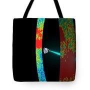 Planck Space Observatory Scanning Tote Bag