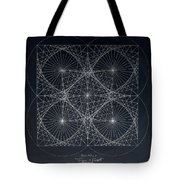 Plancks Blackhole Tote Bag by Jason Padgett