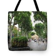 Plane Alley - Aix En Provence Tote Bag