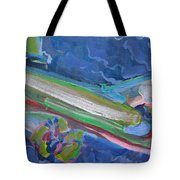 Plane Colorful Tote Bag