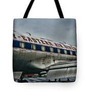 Plane Fly Eastern Air Lines Tote Bag