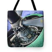 Plane Green Prop Tote Bag