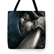 Plane - Pilot - Prop - You Are Clear To Go Tote Bag by Mike Savad
