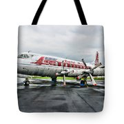 Plane Props On Capital Airlines Tote Bag
