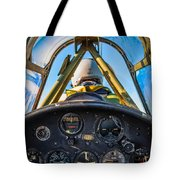 Plane Ride Tote Bag