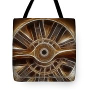 Plane Wooden Prop Tote Bag by Paul Ward